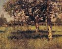 Clausen_George_An_Orchard_in_May_1883
