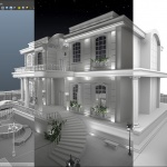 Classic House - 3D Modeling - Process